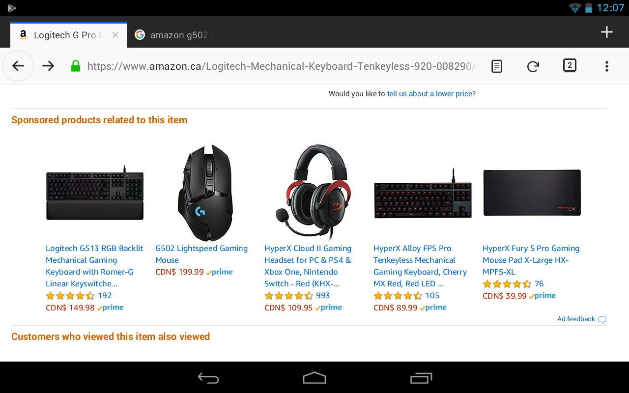 cfb41ae24b0 Amazon g502 lightspeed mistake? : MouseReview